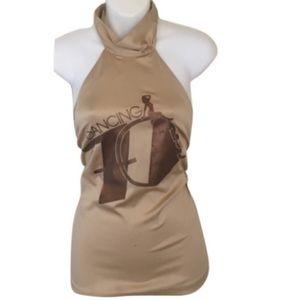 Authentic Dolce & Gabbana vintage halter top sz S